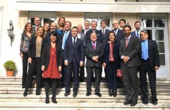 Acto en la Embajada de Francia
