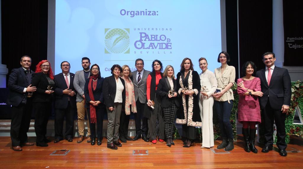 """Premios ROMA UPO """"Universidad, Mujer y Empresa"""" en Fundación Cajasol"""