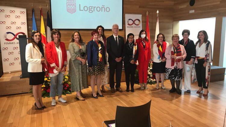 Acto en el Ayuntamiento de Logroño: celebración V centenario del asedio de Logroño por los franceses